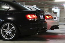 BMW NEW 1 SERIES E82/E88  LED BLACK LINE REAR TAIL LIGHT KIT  63 21 2 225282