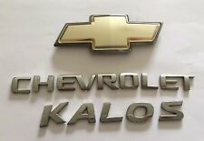 CHEVROLET KALOS REAR BADGE LOGO EMBLEM SET (C32)