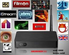 Più recente Android TV Box QUADCORE SHOWBOX mobdro XXX Sports UK venditore!