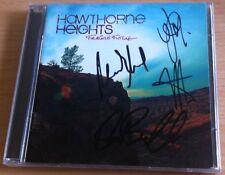 hawthorne heights - Fragile Furture CD SIGNED