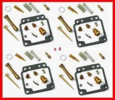KR Carburetor Carb Rebuild Repair Kits x4 YAMAHA XJ 650 4K0 1980-1984