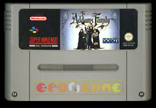 THE ADDAMS FAMILY Super Nintendo SNES Versione Europea PAL ○○○○○ SOLO CARTUCCIA