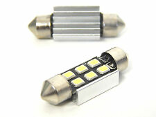 4x 6SMD LED C5W KENNZEICHENBELEUCHTUNG 36mm SOFITTE XENON WEISS EXTREM HELL !!!!