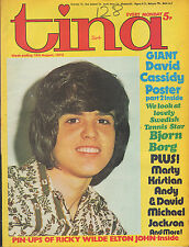 Tina Magazine 18 August 1973   Donny Osmond   Elton John  Andy & David Williams
