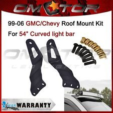 "Mount Brackets Fit 99-06 GMC Sierra/Chevy Silverado LED Light Bar 54"" Curved OM"