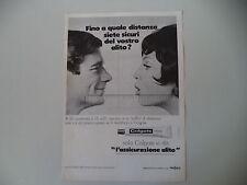 advertising Pubblicità 1968 DENTIFRICIO COLGATE