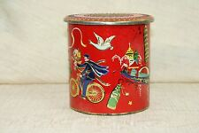 Culture Themed Vintage Container Made In Holland