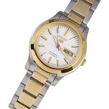 Seiko 5 Ladies SYMD90K1 Combination White Dial Automatic Watch