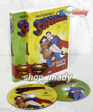 Superman Max Fleischers 1941 Volumen 1 y 2 Español (latino) 2 DVD Multiregión