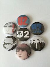 7 U2 button Badges The Joshua Tree Achtung Baby War Boy Beautiful Day New Years
