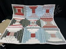 Pottery Barn Charlotte Patchwork Bed Quilted Pillow Sham Euro Square Vintage