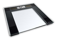 Bathroom Scales Digital Electronic  Weighing Solar Powered Glass Slim With LCD