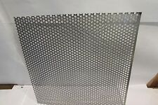 "20 GA. 304 STAINLESS STEEL PERFORATED SHEET 1/4""HOLES 20"" X 20"""