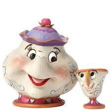 NEW OFFICIAL Disney Traditions Beauty & The Beast Mrs Potts Chip Figure 4049622