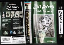 JAPAN Oil On Canvas DAVID SYLVIAN JAPAN VHS VIDEO VPVR-60643 No Insert Free S&H