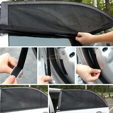 2 x Car Side Rear Window Sun Visor Shade Mesh Cover Shield Sunshade UV Protector