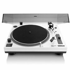 Lenco L3808 Turntable - White