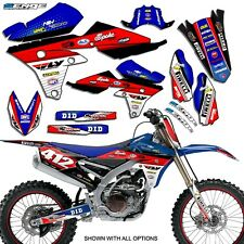 2007 2008 2009 2010 2011 WR 450F GRAPHICS KIT YAMAHA WR450F 450 DECO STICKERS