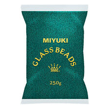 Wholesale Miyuki Size 11/0 Seed Beads Matte Transparent Teal 250g (M84/5)