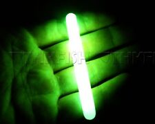 SALE! 10PCS (10bags) Dia:7.5X75MM Big Green Fishing Glow Sticks Lights