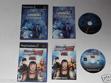 SMACKDOWN SHUT YOUR MOUTH & SMACKDOWN VS RAW 2008 for PLAYSTATION 2