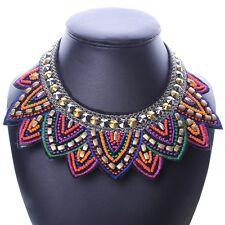 Tribal Jewelry Handmade Spiky Geometric Triangle Charm Bib Pendant Necklace New