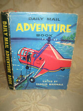 Vintage Collectable Of Daily Mail Adventure Book, By Charles Marshall - 1960's
