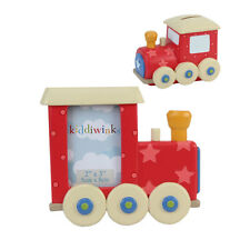 Kiddiwinks Train Photo Frame & Money Bank Gift Set NEW  20289