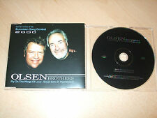 Olsen Brothers - Fly on the Wings of Love - EuroVision 2000 (CD) 2 Tracks  Mint