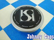 KOKO KUTURE Wheels Silver/Black Center Caps #V004 Custom Wheel Center Cap (1)