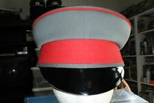 German Officers Field Grey Visor Hat Gabardine 57 or 22 7/16 inches no insignia