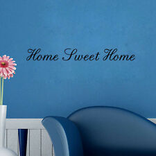 HOME SWEET HOME Quote Wall Vinyl Art Decor Decoration Sticker Removable Vinyl