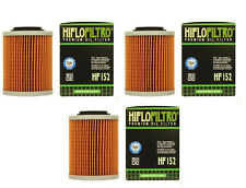 HiFlo (3) Pack Oil Filters Bombardier Outlander 400 HO 4x4 XT 2004 2005 2006