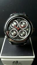 JACOB & CO GMT8SS LIMITED  EDITION CARBON FIBER 32 TIME ZONE AUTOMATIC BRAND NEW