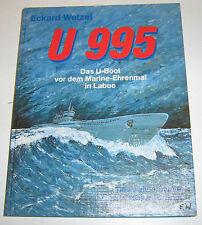 Eckard Wetzel - U 995 - Das U-Boot vor dem Marine-Ehrenmal in Laboe