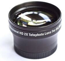 NEW PRO HD 2x TELEPHOTO LENS FOR SONY HDR-CX690e HDR-CX505VE