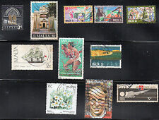 stamps MALTA A62 A131 A140(3) A145 A154 A191 A253 A320 AP1 LOT SET