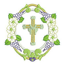 EASTER CIRCLES -  20 MACHINE EMBROIDERY DESIGNS