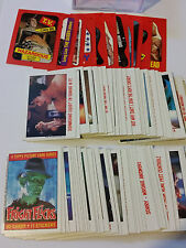 Fright Flicks - Complete set of 90 w/ 11 sticker set - 1988 Topps