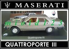 1/43 - Maserati 100 Years Collection : QUATTROPORTE III [ 1983 ] - Die-cast