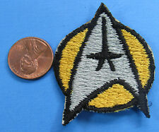 PATCH vintage Star Trek MOTION PICTURE insignia OPERATIONS Yellow