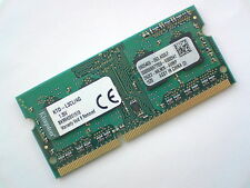 4GB DDR3L-1600 PC3L-12800 1600Mhz KINGSTON KTD-L3CL/4G LAPTOP RAM MEMORY