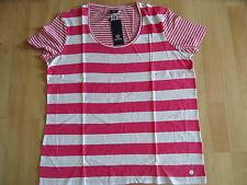 LERROS schönes gestreiftes Shirt pink weiß Gr. 46 NEU 315