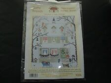 NUOVO New England Bothy Threads Punto Croce Kit Sally SWANNELL Natale Inverno