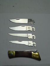 CASE XX Changer Lock Back Folding Pocket Knife Interchangeable Blades 1987