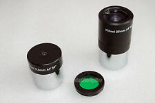 "1.25"" Plossl 25mm , 6.5mm telescope eyepiece + Moon filter (non standard thread)"