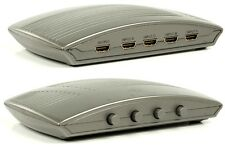 NEW 4 WAY FOUR PORT HDMI UP TO V1.3 SWITCH, 1080P, HDCP