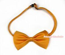 Noeud papillon orange accessoire pour enfants garçon fête de mariage mode costumes de smoking
