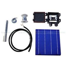 DIY 80W Panel - 20pcs 6x6 Whole Solar Cells KIT w/ Tabbing, Wire Bus & J-Box
