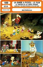 Fiche Cinéma. Movie Card. Ducktales/La bande à Picsou (USA) 1990 Bob Hathcock
